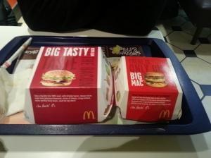 BigMac vs. Big Tasty